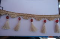 Beaded Tassels Fringe